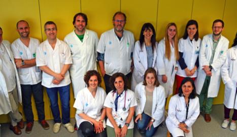 Membres del grup de Neurociències Clíniques de l'IRBLleida, que han participat en l'estudi amb investigadors de l'Arnau i la UdL.