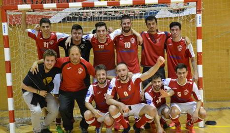 El Sícoris puja a 1a Provincial de futbol sala