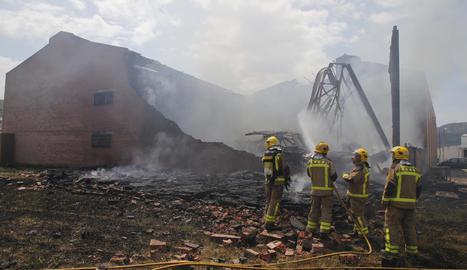 A Puiggròs es van cremar 500 tones de fems.