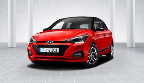 Hyundai i20, més intel·ligent, segur i amb nou aspecte