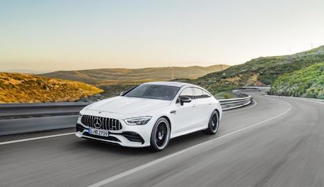Mercedes presentarà en primícia els AMG GT cupè de 4p