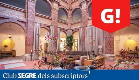El magnífic claustre del Parador del Roser de Lleida.