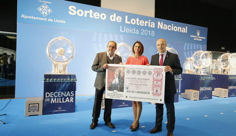 L'acte de presentació del sorteig de Loteria.