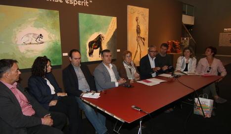 Els responsables dels equipaments culturals de la ciutat van presentar ahir el programa d'activitats de la nova Nit dels Museus.