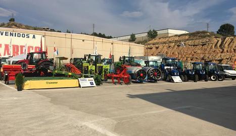La maquinària agrícola va estrenar nova ubicació a les antigues instal·lacions del Sabeco.