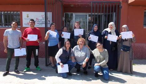 Els participants en aquesta iniciativa del consell comarcal.