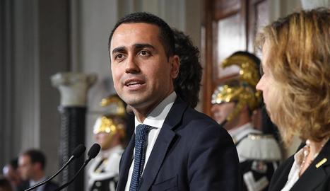 Imatge de dilluns passat del líder del Moviment Cinc Estrelles (M5S), Luigi di Maio.