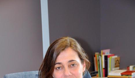 María José Larios, al seu despatx.