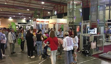 L'afluència de públic va ser massiva durant la jornada d'ahir.