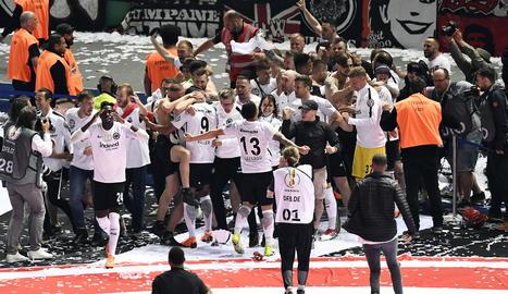 L'Eintracht conquereix la Copa alemanya contra el Bayern Munich