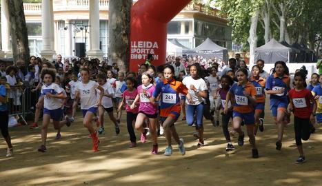 Més de 750 participants a la XX Milla Urbana Escolar-Memorial Saura