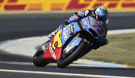 Àlex Màrquez, en el circuito de Le Mans.