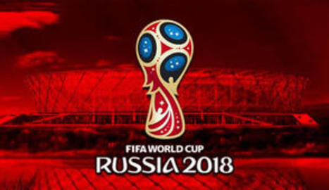 El logo promocional de Rússia 2018.