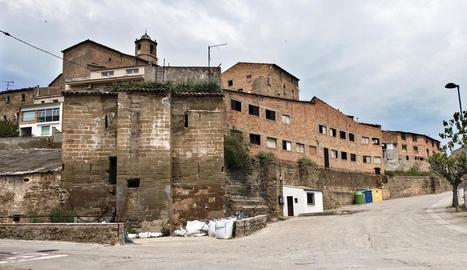 L'estructura del molí que es recuperarà per al poble.