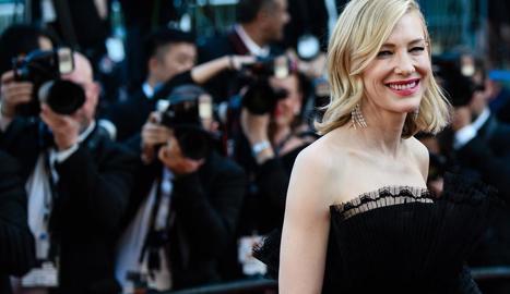 L'actriu australiana Cate Blanchett, presidenta del jurat del Festival de Canes.
