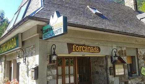 Càmping de Forcanada, a Vilamòs