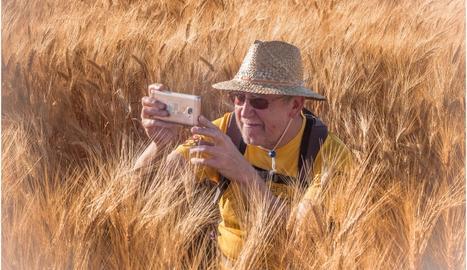 Pere Guiu és un gran aficionat a la fotografia.