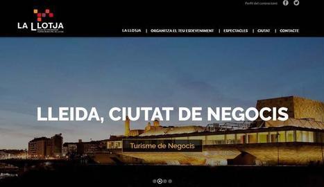 El palau de congressos La Llotja estrena nou web i renova la seva imatge corporativa