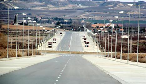 La Plataforma Logística de Fraga, on s'instal·larà Cincaporc.