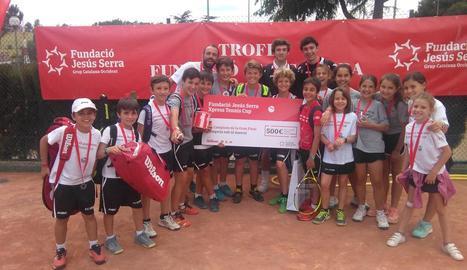 El CT Lleida sub-12, campió de l'Xpress Tennis Cup