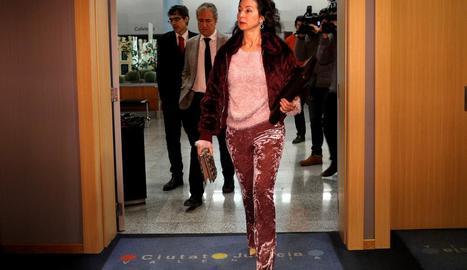 Imatge d'arxiu de la jutge d'instrucció del cas dels ERO falsos a Andalusia, Mercedes Alaya.