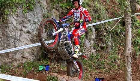Sergio Ribau obre el Mundial de trial amb el divuitè lloc