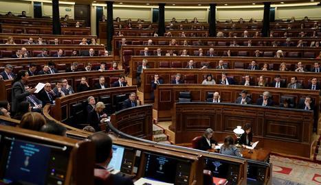 Vista general del Congrés dels Diputats.