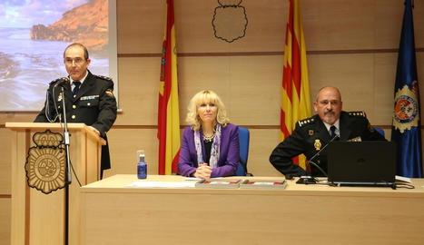 Manso i Fortuny en el polèmic 192 aniversari de la Policia.