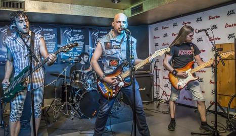 The Innerfogs, guanyadors del Pepe Marín Rock Festival 2017.