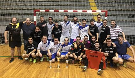 La Copa Balaguer de futbol sala corona l'Iberic Fitness