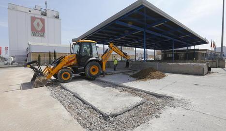 Obres d'ampliació i modernització de les instal·lacions d'Edullesa.