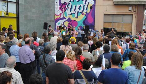 Músics per la Llibertat reuneixen unes 150 persones a Mollerussa