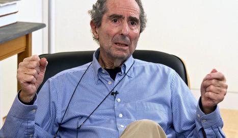 L'escriptor Philip Roth, en una imatge d'arxiu.