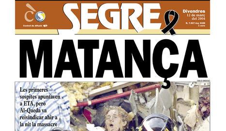 Espanya plora pel pitjor atemptat que ha patit Europa