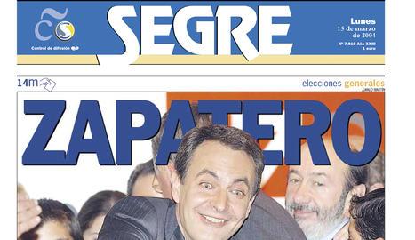 Zapatero fa fora el PP amb el record de l'11-M