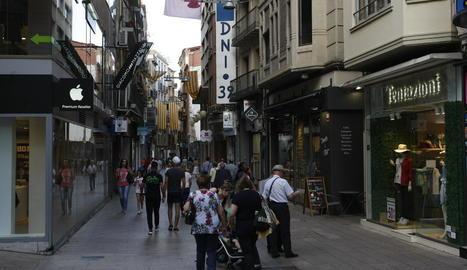L'home va ser trobat dimecres al carrer Sant Antoni, a l'Eix Comercial.