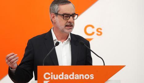 El secretari general de Ciutadans, José Manuel Villegas.