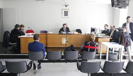 El judici es va celebrar al jutjat penal 2 de Lleida.