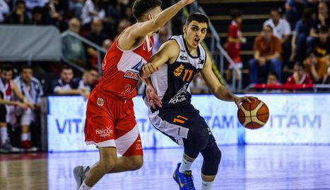 Marc Rubín de Celis va jugar a Manresa l'últim partit amb la samarreta del Força Lleida.