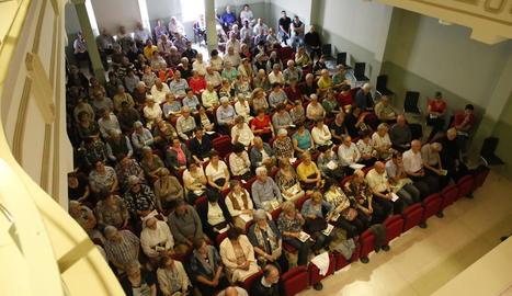 Més de 220 persones reflexionen sobre el món parroquial a l'Assemblea Diocesana del bisbat de Lleida