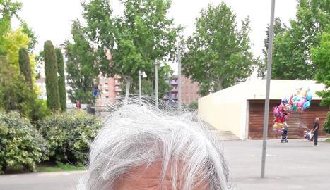 La Marea Pensionista de les Terres de Lleida va organitzar ahir una protesta en ple Aplec del Caragol.