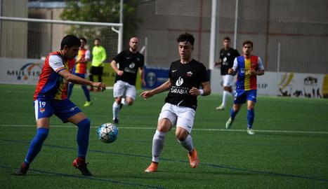 Després del gol de l'empat l'Alpicat va buscar la victòria però un gol al 64 va trencar el somni.