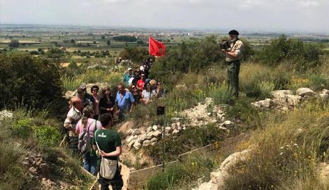 Recreacionistes a l'homenatge a Bellcaire d'Urgell.