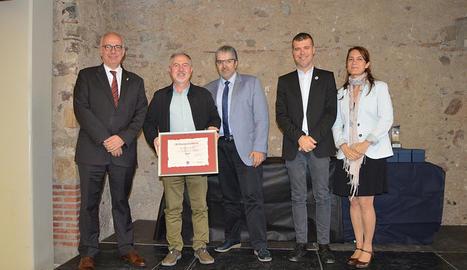 Més de 150 professionals de la comunicació (entre editors, periodistes, gabinets de comunicació i administracions públiques) es van reunir al Casal Riudomenc de Riudoms.
