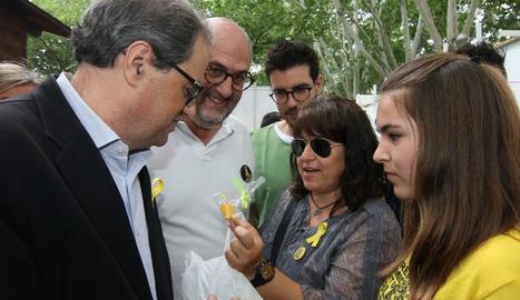 """Torra insta Ros a """"lluitar junts per la llibertat d'expressió"""" i rebutja """"criminalitzar"""" llaços"""