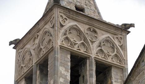 Les campanes de Santa Maria d'Agramunt.