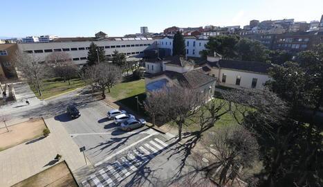Vista general de l'hospital Santa Maria.