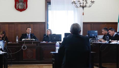 L'exconseller d'Ocupació de la Junta, durant la declaració.