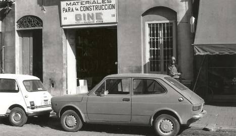Les primeres instal·lacions de la firma Giné, al centre de Lleida