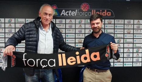 Conveni de col·laboració entre Força Lleida i l'Associació Prosec